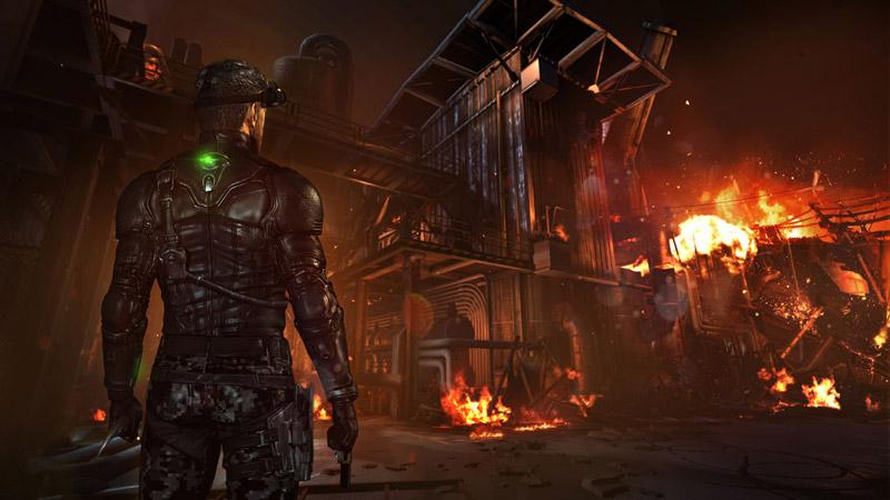 Wii U??Splinter Cell: Blacklist???Off TV Play???