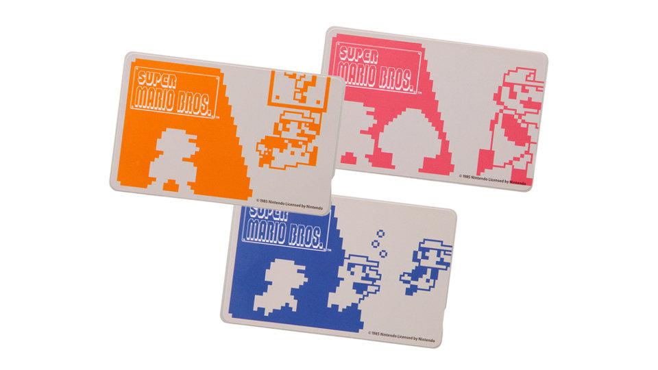 """任天堂公式ライセンス、『スーパーマリオ』の""""ICカードステッカー""""やiPhoneにも使える""""汎用ケース""""が発売"""