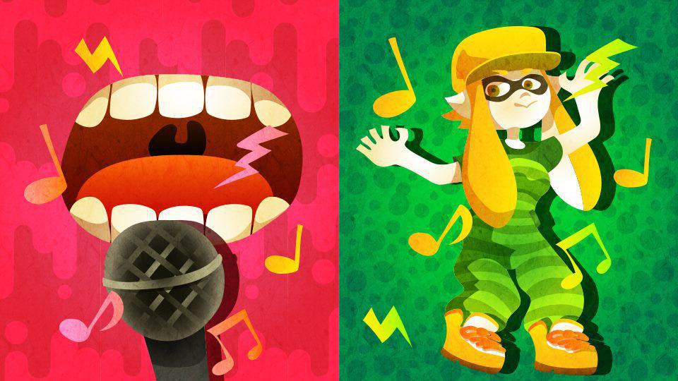 WiiU『スプラトゥーン』、欧州第4回フェスのテーマは「歌うこと or 踊ること」