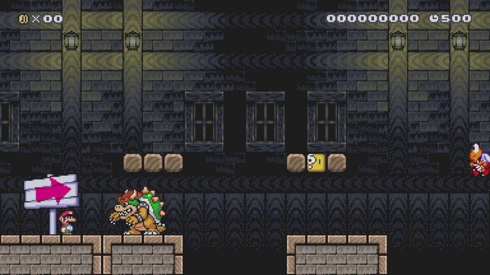 『悪魔城ドラキュラ』のIGAこと五十嵐氏が作るとこうなる、WiiU『スーパーマリオメーカー』でコース作成