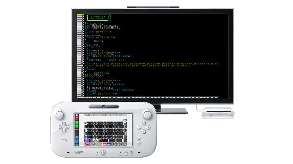 WiiUでプログラミング、スマイルブームが『プチコンBIG(仮)』を発表。来春配信予定