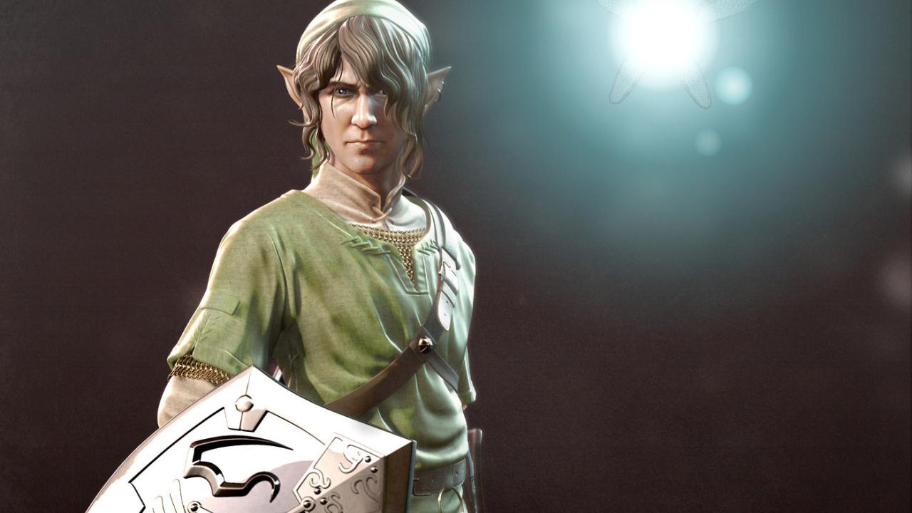 "『Halo』の343i所属アーティストがリアルに表現する、任天堂『ゼルダの伝説』の主人公""リンク"""