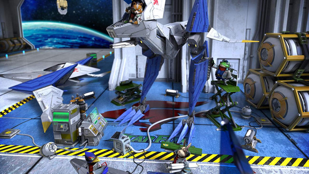 WiiU『スターフォックス ゼロ』の北米ティザーサイトが公開。『amiibo』対応が正式確認、オンライン機能も搭載か