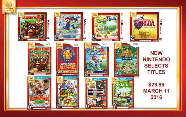 任天堂の海外廉価版「Nintendo Selects」が拡充、『スーパーマリオ 3Dワールド』や『ピクミン3』も追加