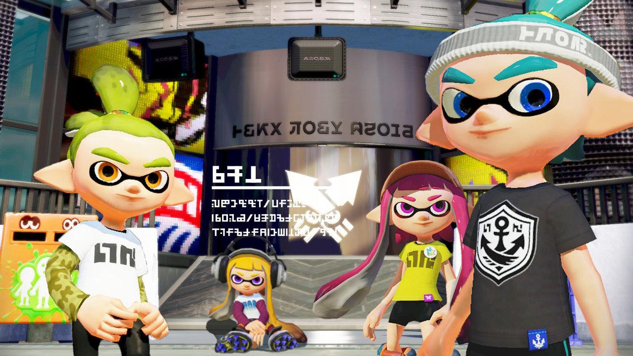 WiiU『スプラトゥーン』に登場するブキやギアのブランド、自分だけのコーデを楽しもう