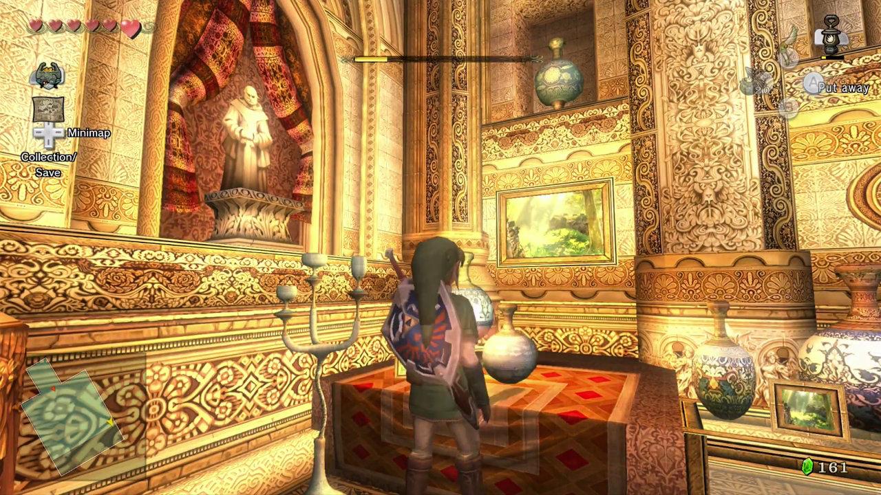 WiiU『ゼルダの伝説 トワイライトプリンセスHD』のゲーム内に最新作からイースターエッグ