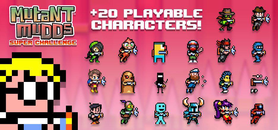3DS/WiiU『マッドアタック!』新作に『ショベルナイト』『シャンティ』ほか多数のゲームキャラクターが参加