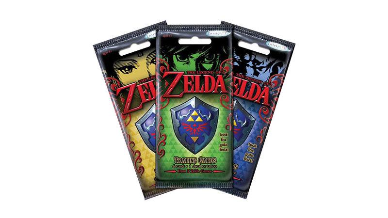 シリーズから5作品を厳選、『ゼルダの伝説 トレーディングカード』が6月に海外発売