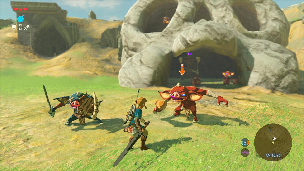 『ゼルダの伝説 BotW』、WiiU版とNX版のゲーム内容は同じ。しかし異なるビジュアルに