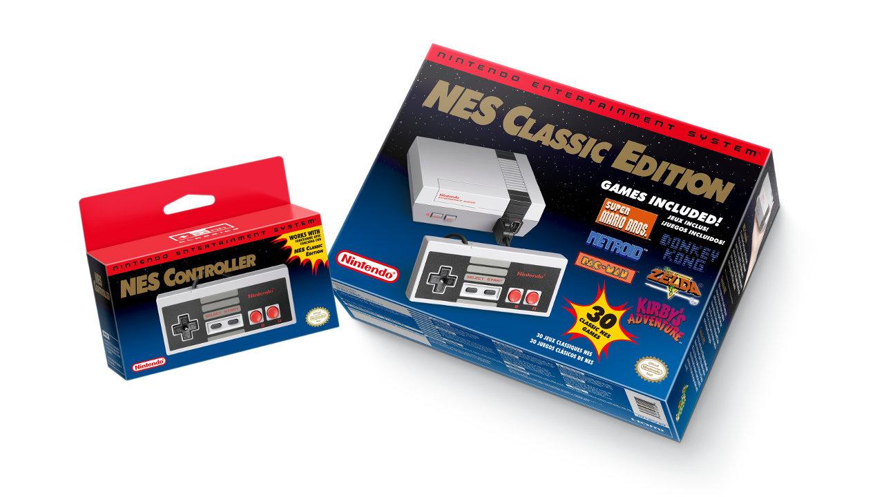 任天堂公式から海外版ファミコン「NES」の新型が発売、『マリオ』や『ゼルダ』など30作品のゲームを収録