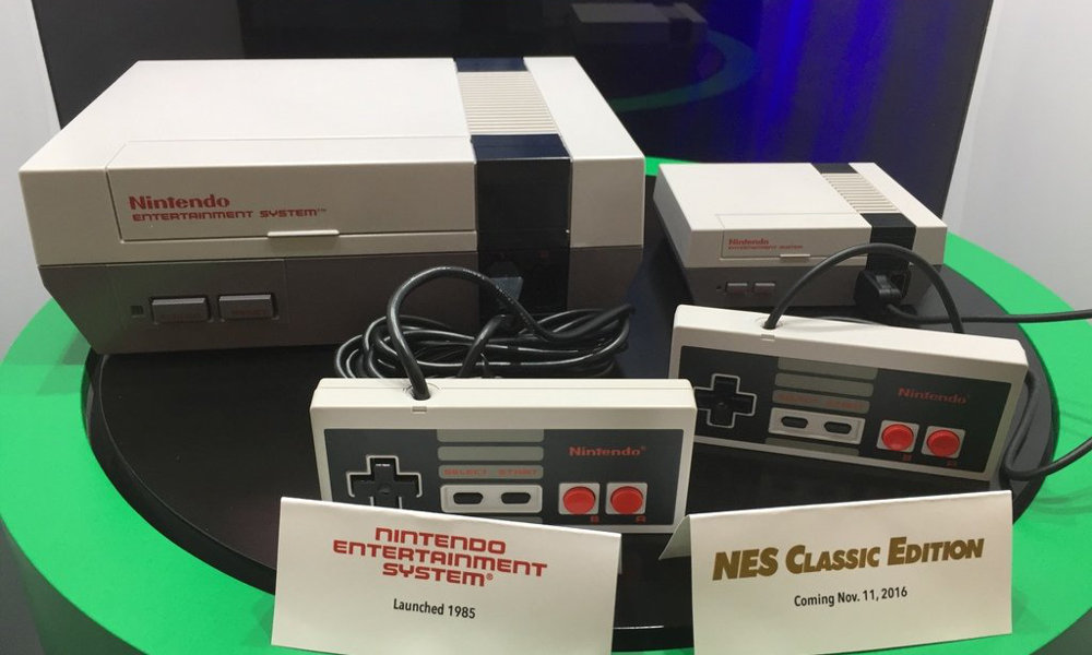NES (1985) and NES Classic Edition (2016)