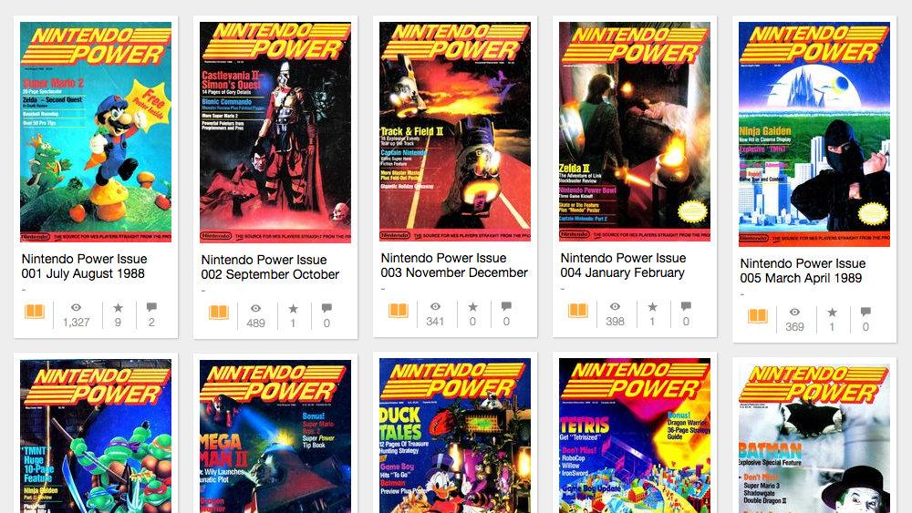 t011.org [Update] インターネット・アーカイブに登録された、13年分の米任天堂公式情報誌「Nintendo Power」バックナンバーが削除
