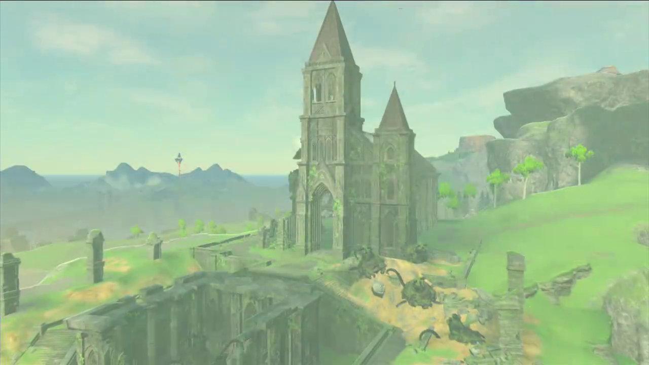 『ゼルダの伝説 ブレス オブ ザ ワイルド』の「時の神殿」を改めて紹介する公式映像