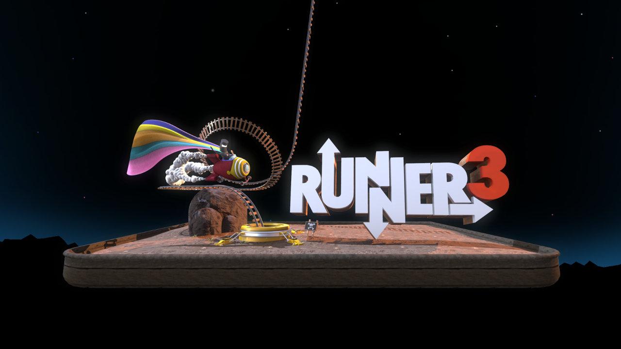 走り続けるリズムアクション『BIT.TRIP.RUNNER』の最新作『RUNNER 3』が発表、2017年リリースへ