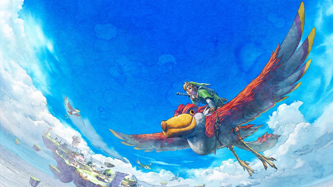 Wii DL:『ゼルダの伝説 スカイウォードソード』が配信開始、Wiiモーションプラス機能を使って遊ぶ「ゼルダの伝説、はじまりの物語」