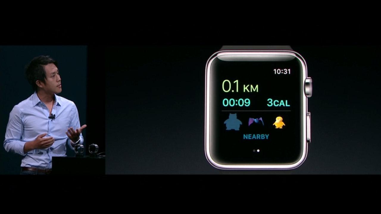 『ポケモンGO』がApple Watchに対応、フィットネスアプリとしての機能を強化