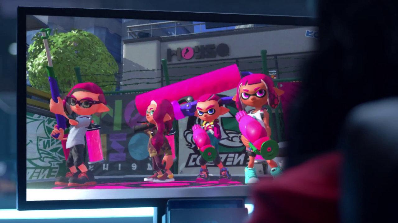 「Nintendo Switch」PVで『ゼルダ』以外に明らかになったゲーム、『スカイリム』『3Dマリオ』『マリオカート』、そして『スプラトゥーン』