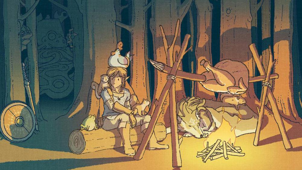 米任天堂、『ゼルダの伝説 BotW』のサンクスギビングデー記念イベント