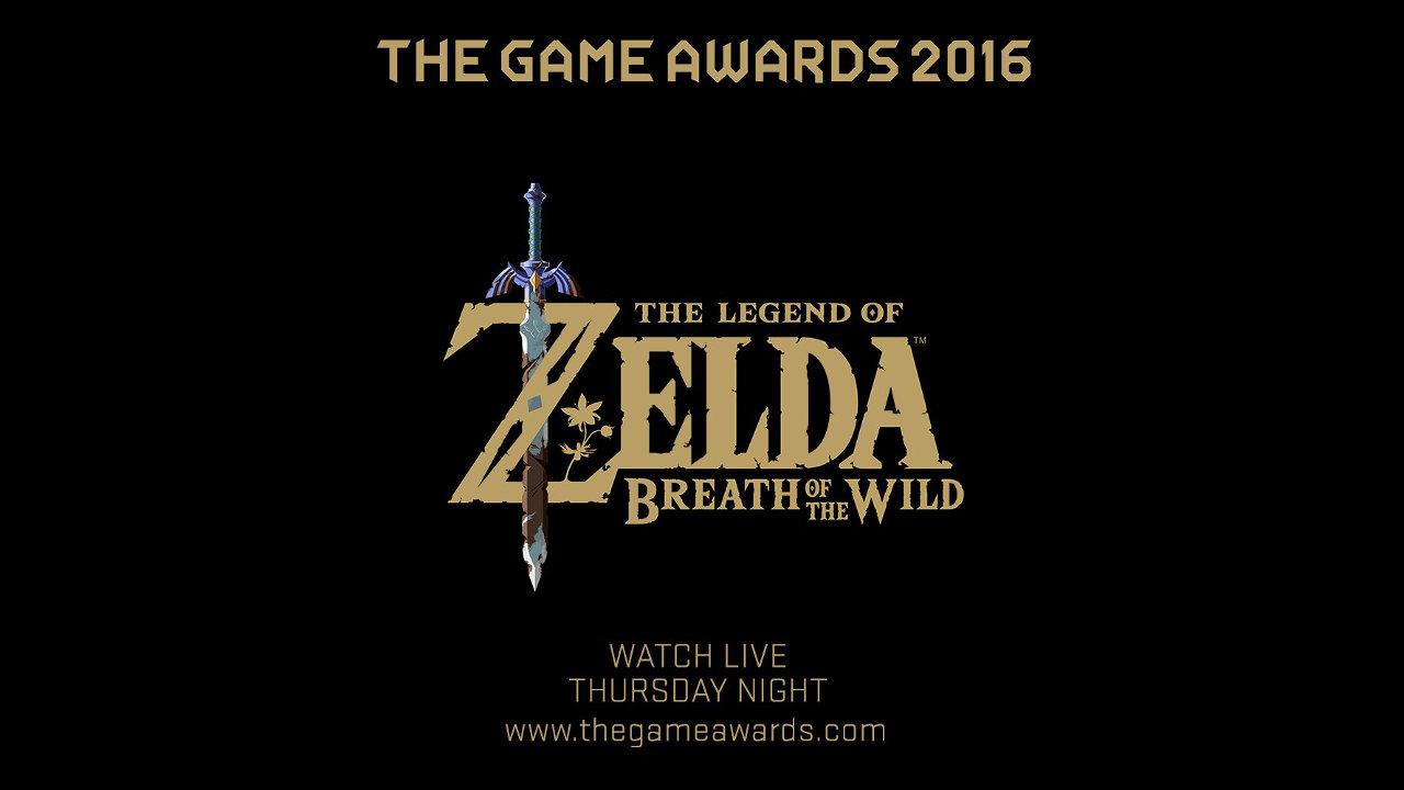 TGA 2016:『ゼルダの伝説 ブレス オブ ザ ワイルド』の新情報がお披露目へ