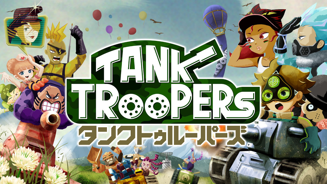 3DS『タンクトゥルーパーズ』、多彩な戦車と特殊能力を持つ13人の兵士が繰り広げる戦車アクション
