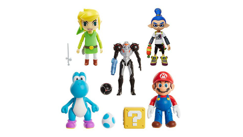 海外の任天堂公式ライセンストイ「World of Nintendo」、『スプラトゥーン』からボーイのアクションフィギュアが登場