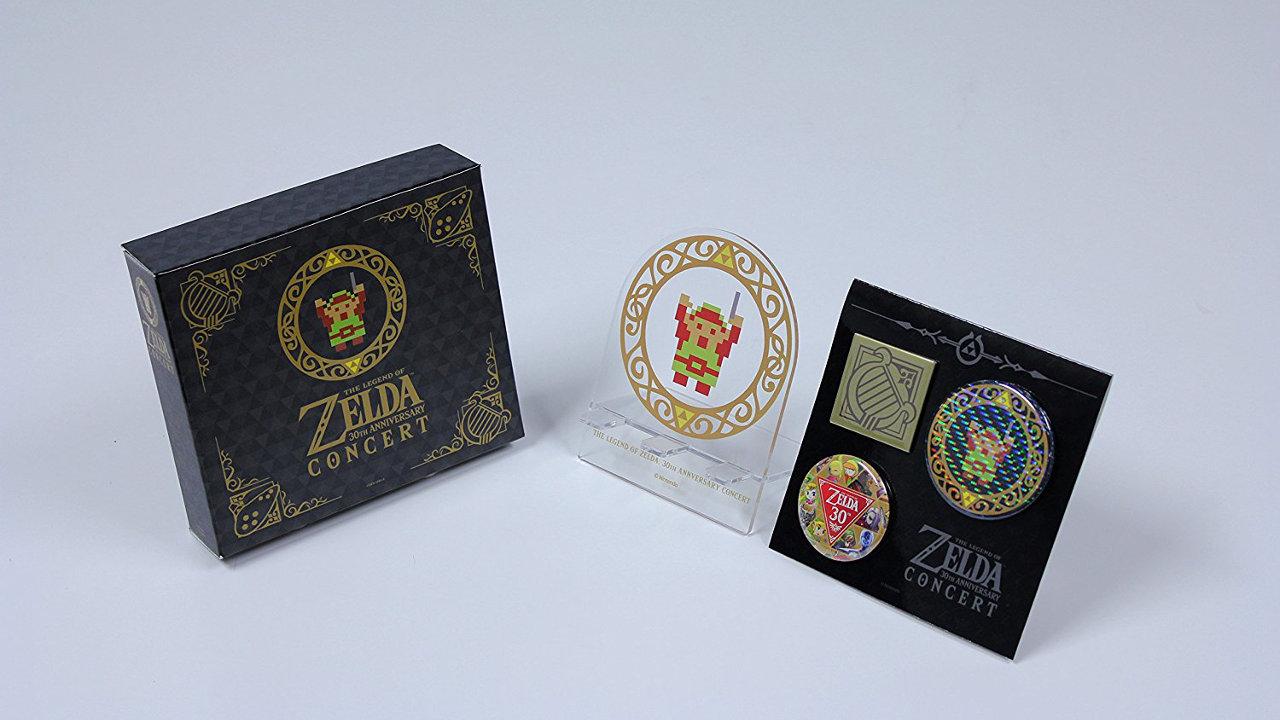 ゼルダの伝説 30周年記念コンサート - 封入特典「オリジナルCDスタンド」「オリジナル缶バッジセット」