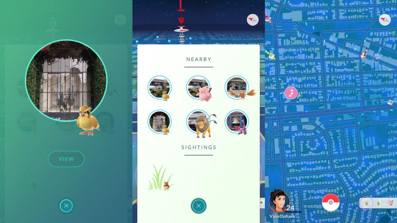 『ポケモンGO』、「近くにいるポケモン」機能の提供地域が拡大。どのポケストップ周辺にいるかを確認可能