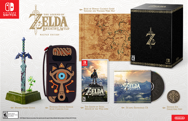 The Legend of Zelda: Breath of the Wild - Master Edition