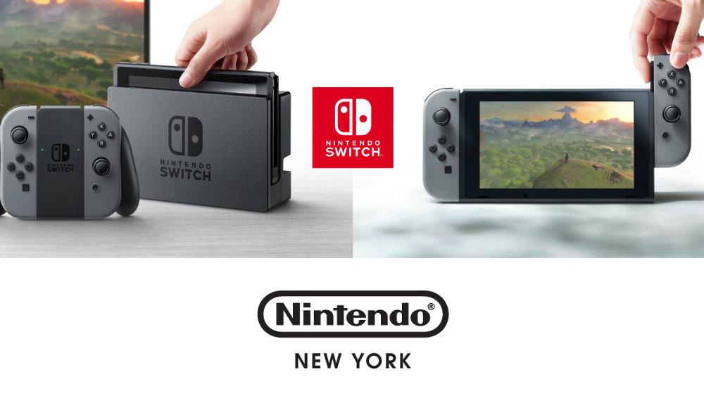 任天堂NYストア、13日より Nintendo Switch の予約受付を開始