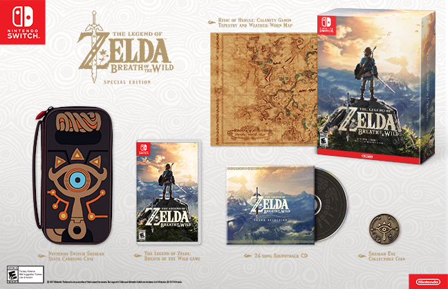 The Legend of Zelda: Breath of the Wild - Special Edition