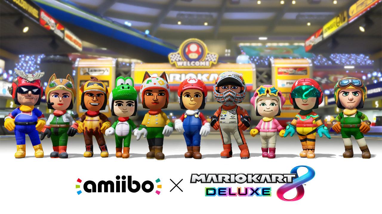 マリオカート8 デラックス × amiibo