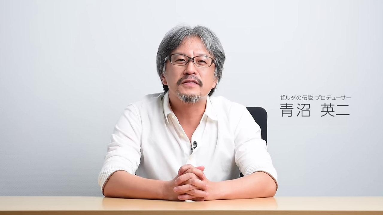 任天堂 - 青沼英二氏