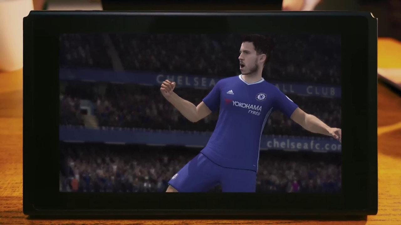 Nintendo Switch TVCM 協力・対戦篇 - EA SPORS FIFA (FIFA 18?)