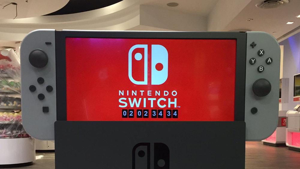 Nintendo Switch - カウントダウン開始