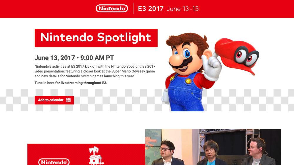 Nintendo @ E3 2017