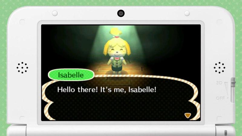 海外版3DS『とびだせ どうぶつの森』、秘書Isabelle(しずえ)からユーザーへ直接ビデオメッセージ