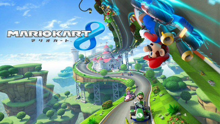 WiiU『マリオカート8』、メビウスの輪な「マリオサーキット」など判明している新旧16コースの周回映像