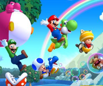 3DS『すれちがいMii広場』の「ピースあつめの旅」に新パネル『New スーパーマリオブラザーズ U + New スーパールイージ U』が追加