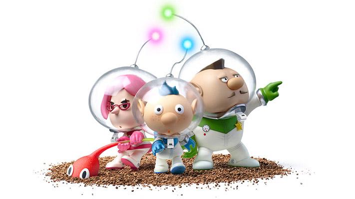 "Wii U『ピクミン3』、『1』『2』の主人公オリマーもストーリー絡みで""ちょっと""登場"