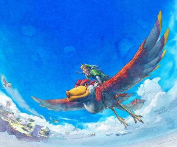 3DS『すれちがいMii広場』の「ピースあつめの旅」に新パネル『ゼルダの伝説 スカイウォードソード』が追加