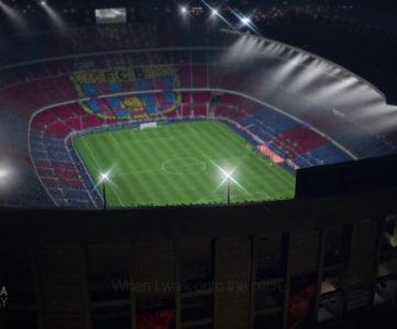 『FIFA 14』、FCバルセロナのホームスタジアム「カンプ・ノウ」を収録