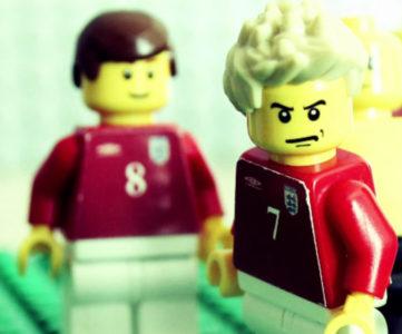 デビッド・ベッカムのサッカー人生をレゴで振り返る、ストップモーション映像