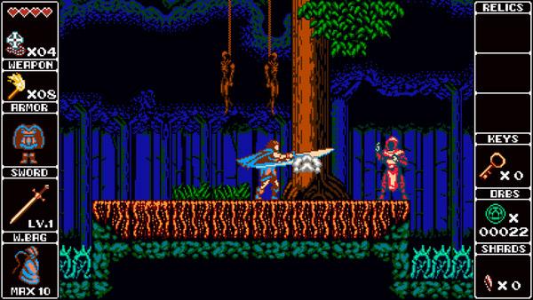 『悪魔城ドラキュラ』風のファミコンスタイルアクションゲーム『Odallus: Tha Dark Call』、Wii U発売を目指す