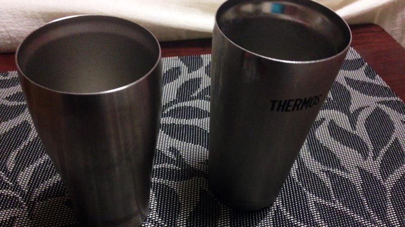 夏の冷たい飲み物はサーモスの真空断熱タンブラーに入れるのが大正解、結露なし、氷も溶けずにゴクゴク飲める