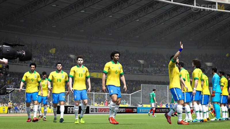 『FIFA 14』、ブラジル代表の公式ライセンス化や新たにウェールズが加わったナショナルチームリスト