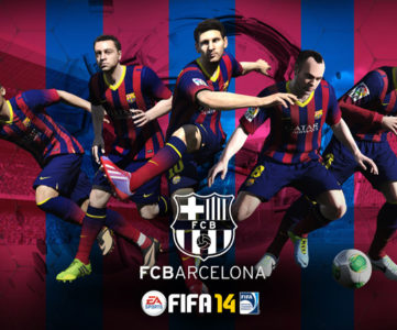 EA、FCバルセロナとオフィシャルビデオゲームパートナー契約を締結