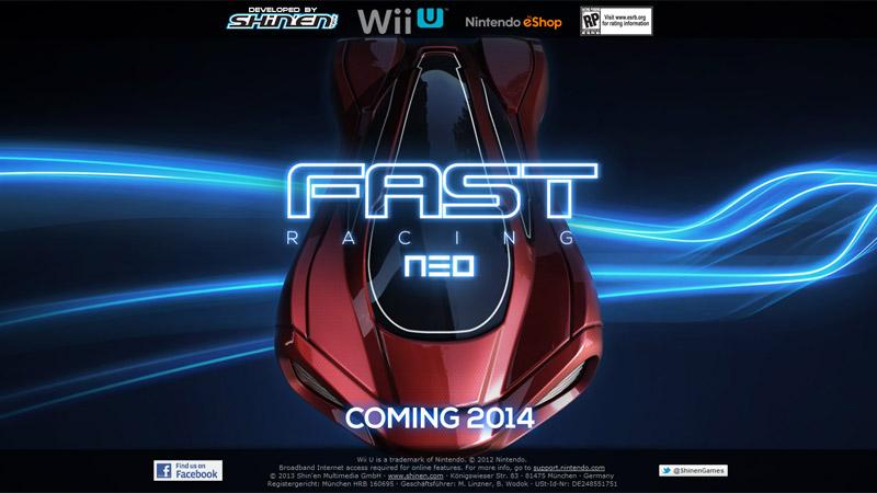 Shin'enが語る『FAST Racing Neo』の対応コントローラ、もう1つの「非常に美しい」Wii Uソフト。『F-ZERO』に対する考え