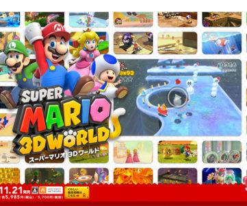 """""""3Dマリオの集大成""""の意気込みを実感できる、Wii U『スーパーマリオ 3Dワールド』最新トレーラー。全コントローラ操作、「Off-TV Play」にも対応"""