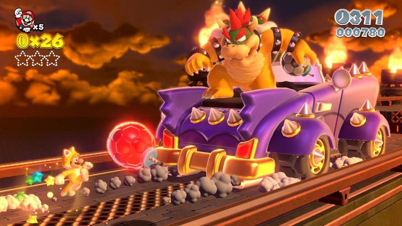 Wii U『スーパーマリオ 3Dワールド』、生演奏によるBGMを多数収録