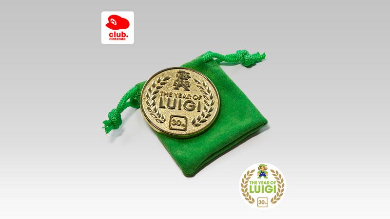 「ルイージの年」を締めくくる、欧州クラブニンテンドーの記念コイン「The Year of Luigi Coin」